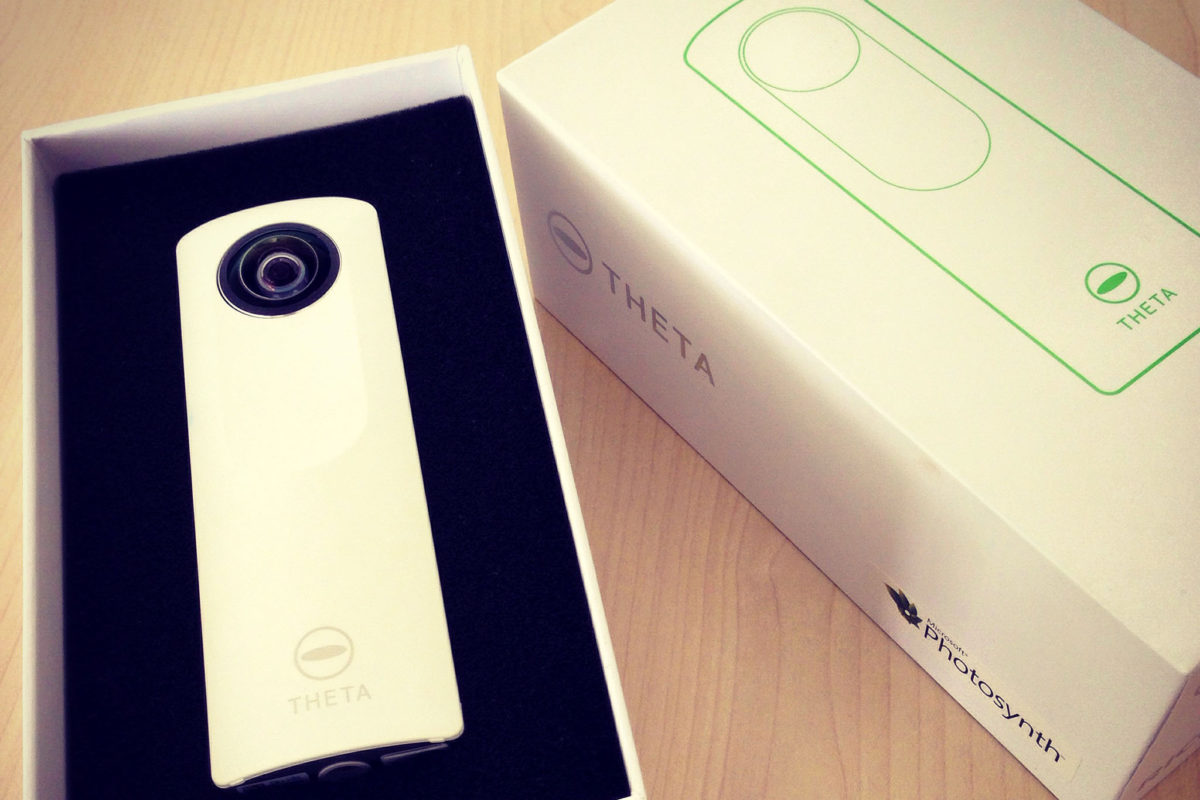 New camera: Ricoh Theta