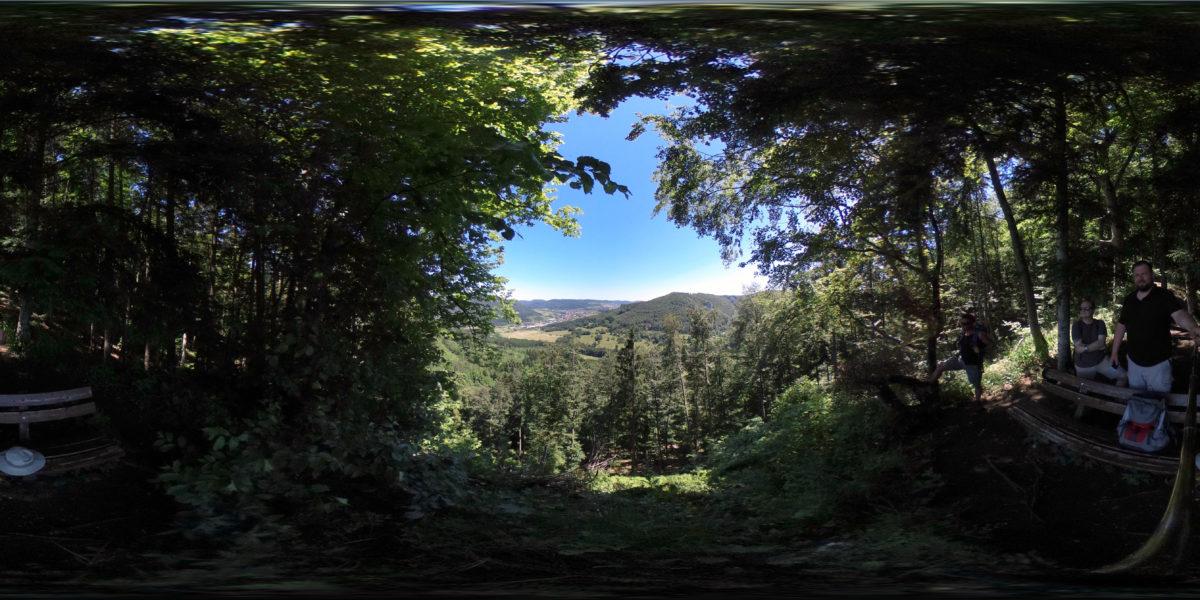 View from Kübelhansfelsen