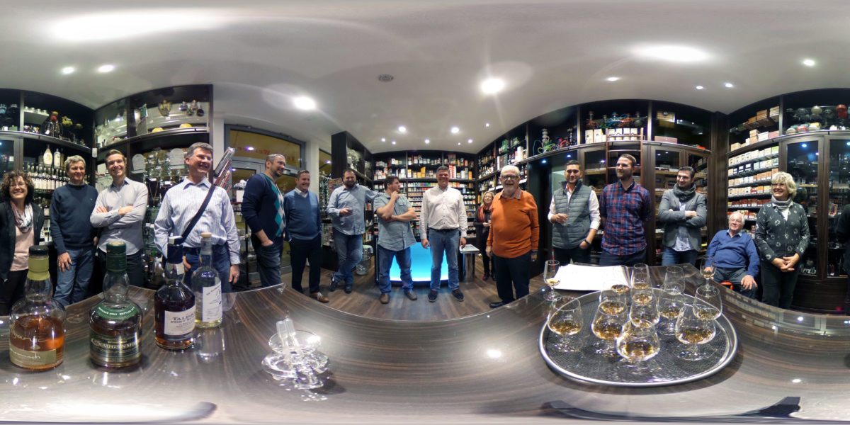 Whisky Tasting at Tabak Werner in December 2016